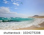 Kite Surf Seascape With...