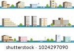 the city of the flood   Shutterstock .eps vector #1024297090