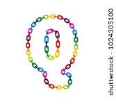q chain letter logo icon design | Shutterstock .eps vector #1024305100