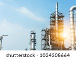 close up industrial zone. plant ... | Shutterstock . vector #1024308664