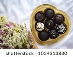chocolate gift for valentine's... | Shutterstock . vector #1024313830