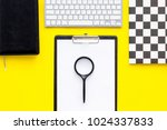 the order on the office work... | Shutterstock . vector #1024337833