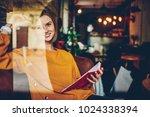 half length portrait of...   Shutterstock . vector #1024338394