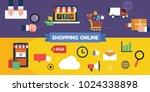 flat illustration icon design...   Shutterstock .eps vector #1024338898