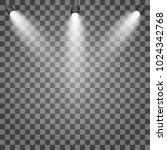 scene illumination  transparent ... | Shutterstock .eps vector #1024342768