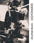 detail of video camera   film...   Shutterstock . vector #1024346830