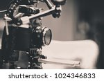 detail of video camera   film... | Shutterstock . vector #1024346833