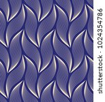 the geometric pattern with wavy ... | Shutterstock .eps vector #1024354786