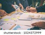 startup business team...   Shutterstock . vector #1024372999