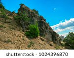 beautiful summer sea landscape...   Shutterstock . vector #1024396870