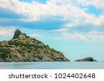beautiful summer sea landscape...   Shutterstock . vector #1024402648