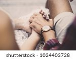 always and forever or hand... | Shutterstock . vector #1024403728