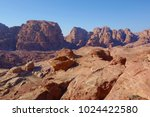 panoramic view of petra from... | Shutterstock . vector #1024422580