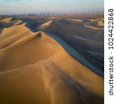 sand dune in iran desert   Shutterstock . vector #1024422868