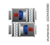 ventilating fan installation...   Shutterstock .eps vector #1024430080