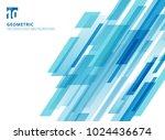 abstract technology diagonally... | Shutterstock .eps vector #1024436674