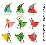 vector illustrations in flat... | Shutterstock .eps vector #1024449379