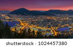 a wonderful panoramic view of... | Shutterstock . vector #1024457380