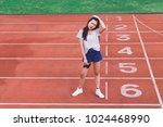 fashion portrait of hipster...   Shutterstock . vector #1024468990