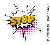 stop  no  sign hand drawn...   Shutterstock .eps vector #1024473274
