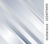 light blue abstract tech... | Shutterstock .eps vector #1024473454