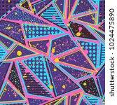 abstract seamless vector...   Shutterstock .eps vector #1024475890