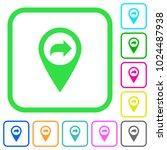 forward gps map location vivid... | Shutterstock .eps vector #1024487938