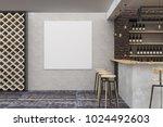 contemporary loft bar or pub... | Shutterstock . vector #1024492603