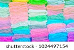 blurred image mix the colors of ... | Shutterstock . vector #1024497154