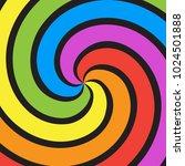 rainbow swirl background....   Shutterstock .eps vector #1024501888