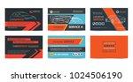 set of automotive repair... | Shutterstock .eps vector #1024506190