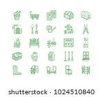 gardening  planting... | Shutterstock .eps vector #1024510840