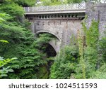 devil's bridge   wales. the... | Shutterstock . vector #1024511593