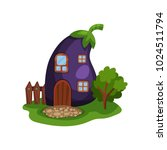 cartoon illustration with fairy ... | Shutterstock .eps vector #1024511794