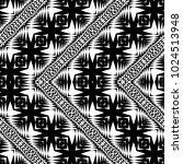 design seamless monochrome... | Shutterstock .eps vector #1024513948