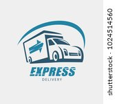 delivery and shipping service... | Shutterstock .eps vector #1024514560