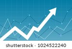 stock market diagram | Shutterstock .eps vector #1024522240