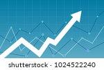 stock market diagram | Shutterstock .eps vector #1024522240