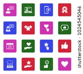 feedback and review icons....   Shutterstock .eps vector #1024545046