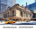 new york city   april 14 ... | Shutterstock . vector #1024562044