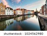 bruges cityscape  belgium   Shutterstock . vector #1024562980