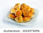 brazilian snack  arabic esfiha | Shutterstock . vector #1024573096