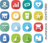 flat vector icon set   pointer... | Shutterstock .eps vector #1024575880