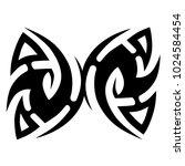 tattoo tribal vector design. | Shutterstock .eps vector #1024584454