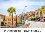 beautiful coast of french... | Shutterstock . vector #1024593610