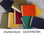 back to school and education... | Shutterstock . vector #1024596784