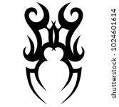 tattoo tribal vector design. | Shutterstock .eps vector #1024601614