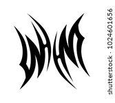 tattoo art tribal vector design.... | Shutterstock .eps vector #1024601656