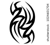 tattoo tribal vector design.... | Shutterstock .eps vector #1024601704