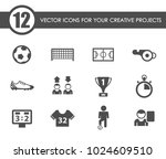 football vector icons for your... | Shutterstock .eps vector #1024609510